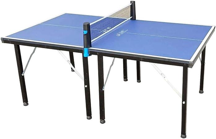 LHSG Mesa de Ping Pong pequeña Plegable, Mesa de Tenis de Mesa compacta de Montaje rápido, Juegos Deportivos Profesionales con Almacenamiento mínimo para su Sala de Juegos: Amazon.es: Hogar