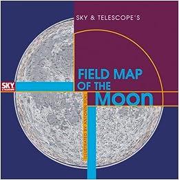 Sky  Telescopes Field Map of the Moon Antonn Rkl