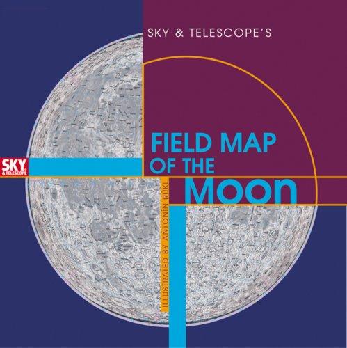 Sky & Telescope's Field Map of the Moon (Map Telescope)