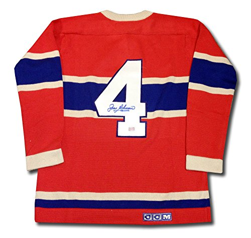 Jean-Beliveau-Autographed-Wool-Montreal-Canadiens-Jersey