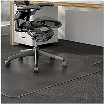 Universal 56807 Studded Chair Mat for Low Pile Carpet 45 x 53 Clear
