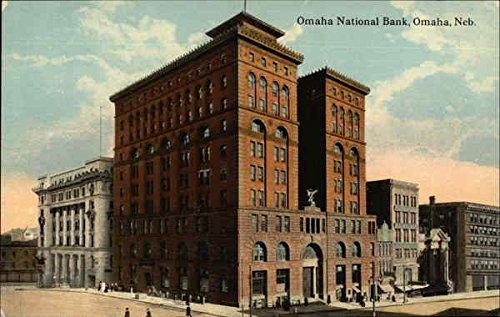 (Omaha National Bank Omaha, Nebraska Original Vintage Postcard)