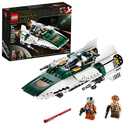 LEGO Star Wars: The Rise of Skywalker Resistance A-Wing Starfighter