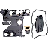 APDTY 028780 Transmission Conductor Plate Complete Kit Includes Valve Body Plate, VSS Vehicle Speed Sensor, Adapter Plug, Filter, & Gasket (Replaces Mopar 68049181AA; Mercedes 1402701161, 2035400253)