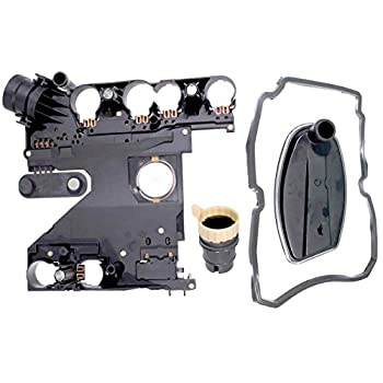 Image of Filter & Gasket Kits APDTY 028780 Transmission Conductor Plate Complete Kit Includes Valve Body Plate, VSS Vehicle Speed Sensor, Adapter Plug, Filter, Gasket (Replaces Mopar 68049181AA; Mercedes 1402701161, 2035400253)