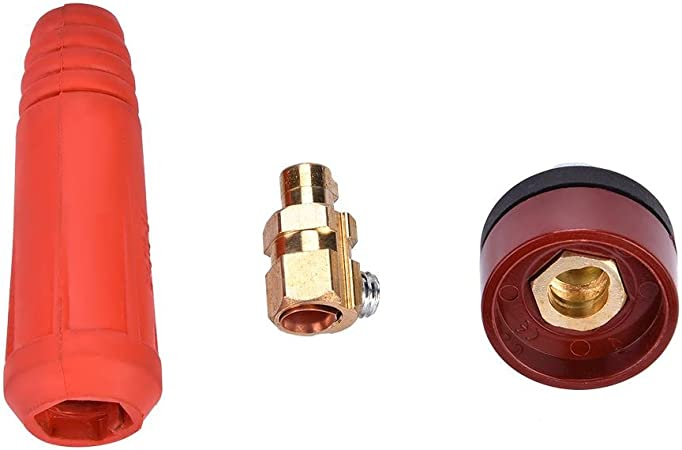 Black DKJ 50-70 Welding Soldering Cable Quick Connector Female Socket for Dinse