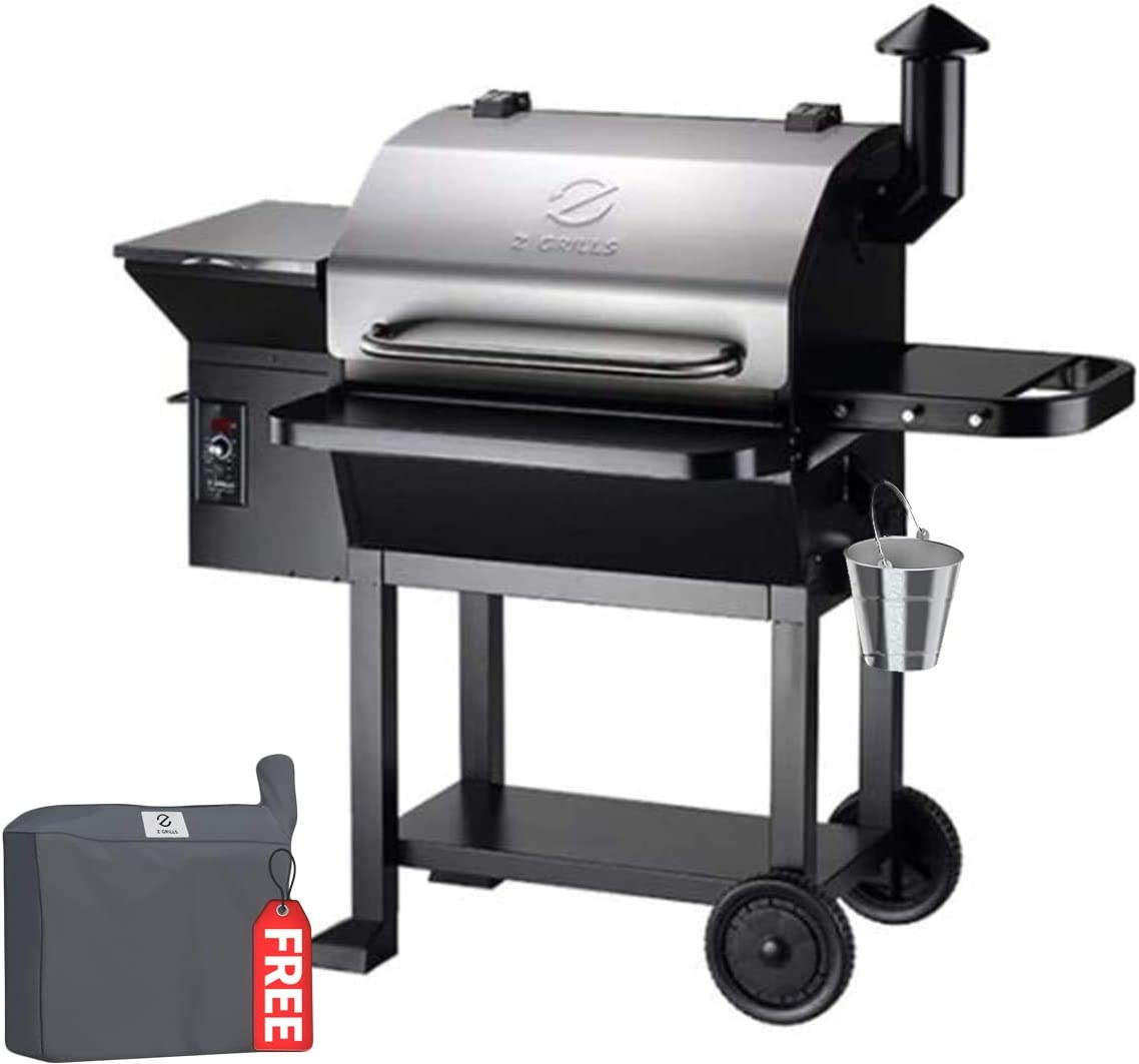 Z GRILLS 2020 Upgrade Wood Pellets Grill