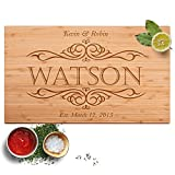 Personalized Cutting Board, 12 Designs & 2 Sizes, Bamboo Cutting Board Deal (Small Image)