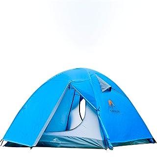 Tenda istantanea Portatile del Parasole del Riparo di Sun della Tenda della Spiaggia di 4 Persone per la Spiaggia con la Borsa di Trasporto (Color : Blue, Size : Free Size)