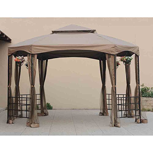 Sunjoy Replacement Canopy Set for Sienna Gazebo -  110109111