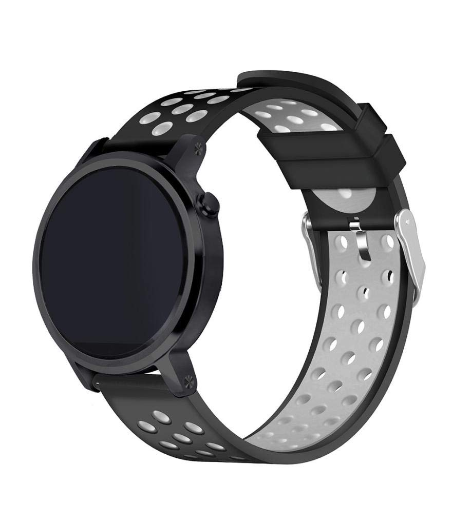 Zolimx Pulsera de Silicona Correa Fitness Smartband Elegantes Deportivos para Xiaomi Huami Amazfit Stratos 2/2S Reloj Inteligente (Amarillo)