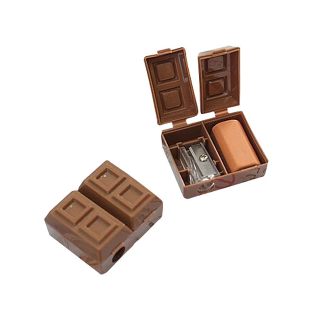 oyfel temperamatite cioccolato kawaii Mignon Rosa in plastica per bambini ragazzo ragazza Ecole 1pcs colore casuale