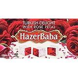Hazer Baba Turkish Delight with Rose, 16 oz