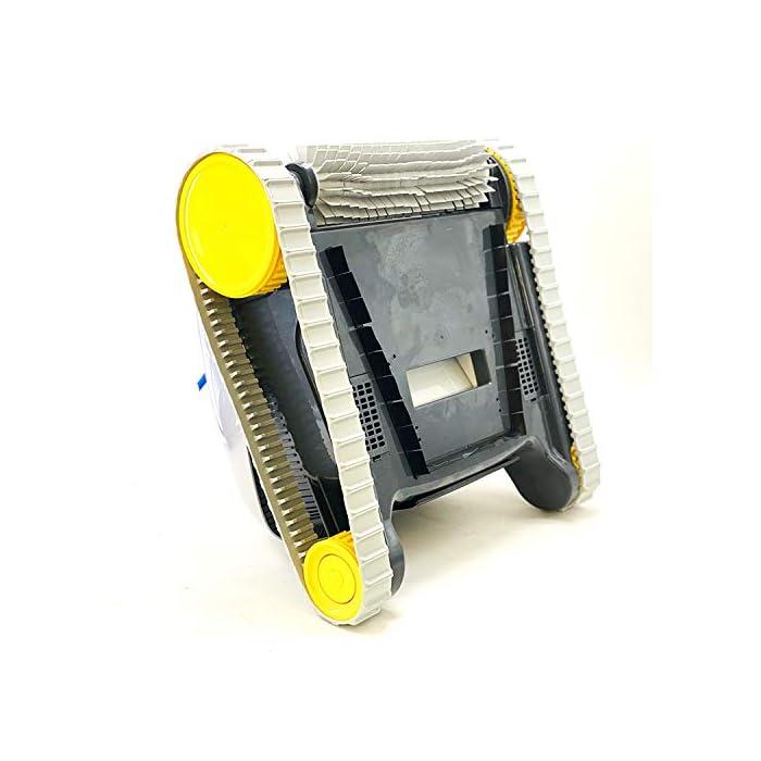 51wskKU6IvL Novedad 2019. Producto exclusivo Limpieza de fondo, paredes y línea de flotación con 15 metros de cable Aspiración y cepillo activo, con filtro cesta Easy-Clean de fácil acceso y limpieza, incluye filtros de primavera y ultrafinos