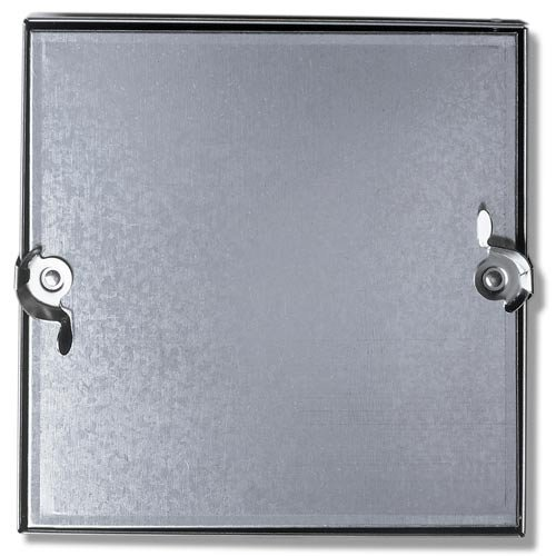 Duct Access Door W/No Hinge, Galvanized Steel, 8x8 by Acudor