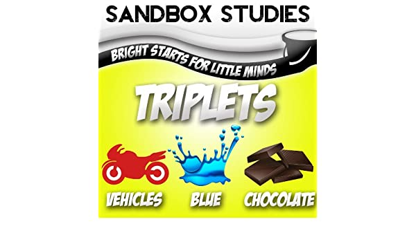 SandBox Triplets: Colors, Shapes & Numbers (First Starts Book 1)