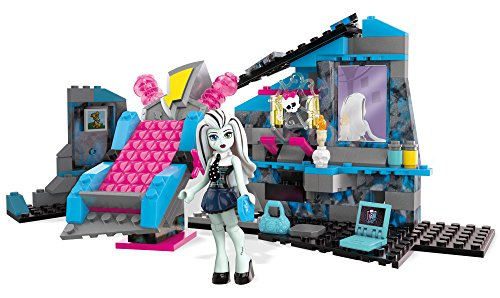 Mega Bloks Monster High Frankie Stein's Electrifying Room Building Set (Monster High Party Set)
