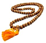 Healing Lama 108 Beads Genuine Sandlewood Tibetan Meditation Prayer Japa Mala, Necklace. 8MM Beads Size