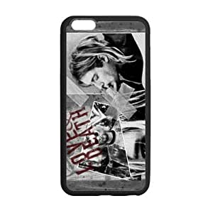STYLE-UM@ Durable Soft TPU Case for iPhone 6 Plus with Nirvana Design (White or Black), 5.5 inch