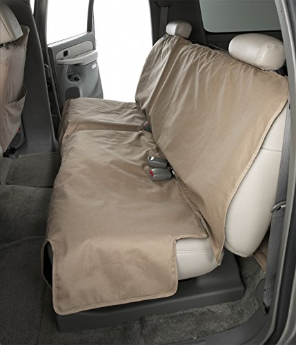 Canine Covers Econo Plus 2nd Row Semi-Custom Fit Seat Protector – Polycotton Grey
