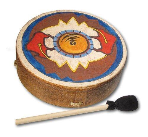 remo 12 inch buffalo drum with sun buffalo