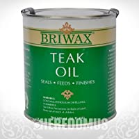 Briwax Teak Oil, 500 mL/16 oz. by Briwax Teak Oil 16 fl oz