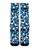 Carolina Panthers Digi Camo League Ready Custom Socks