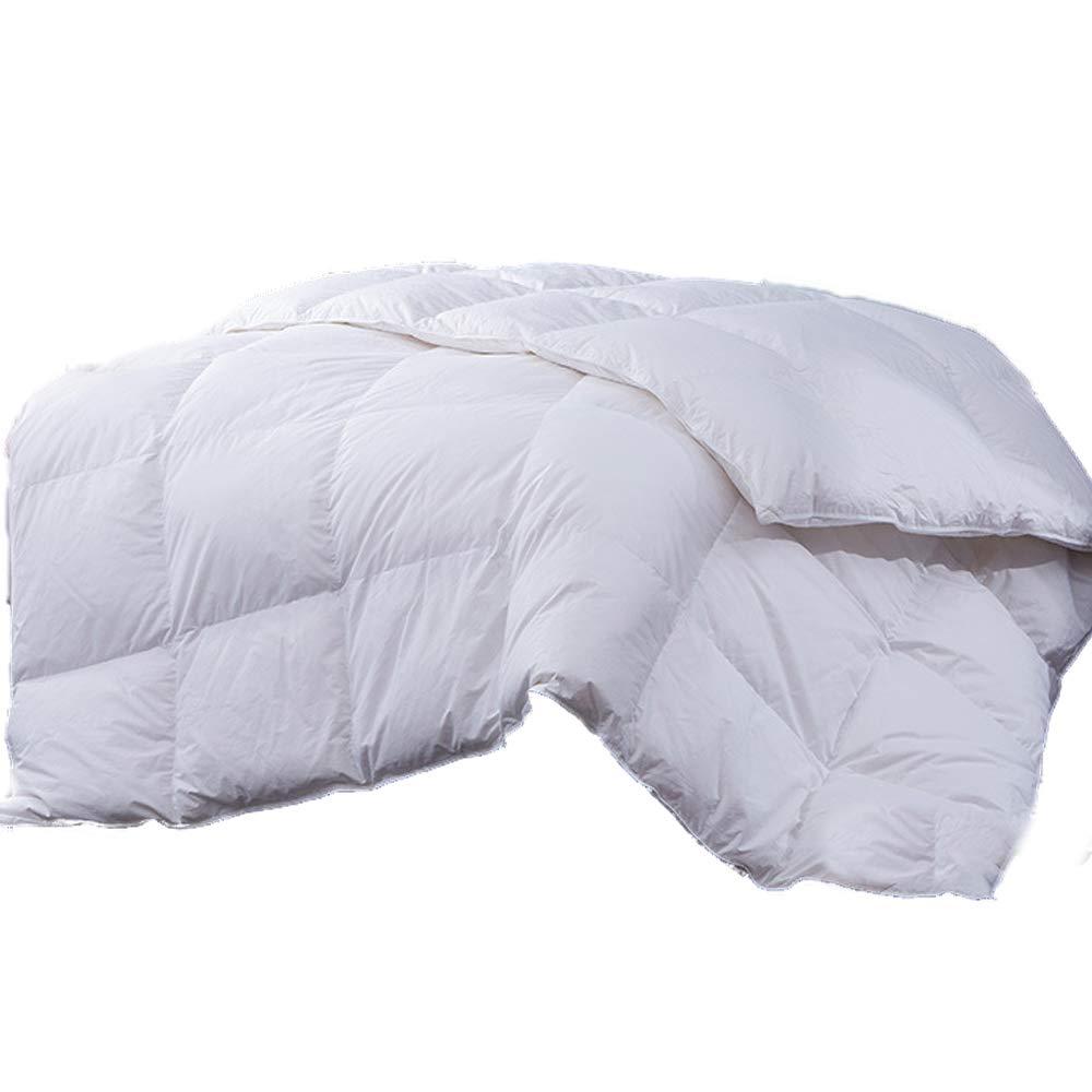 BYNSM羽毛布団は、低刺激性の肌にやさしい通気性の寝具、クリスマスの贅沢な,180*220cm B07KVYRLZ4  180*220cm