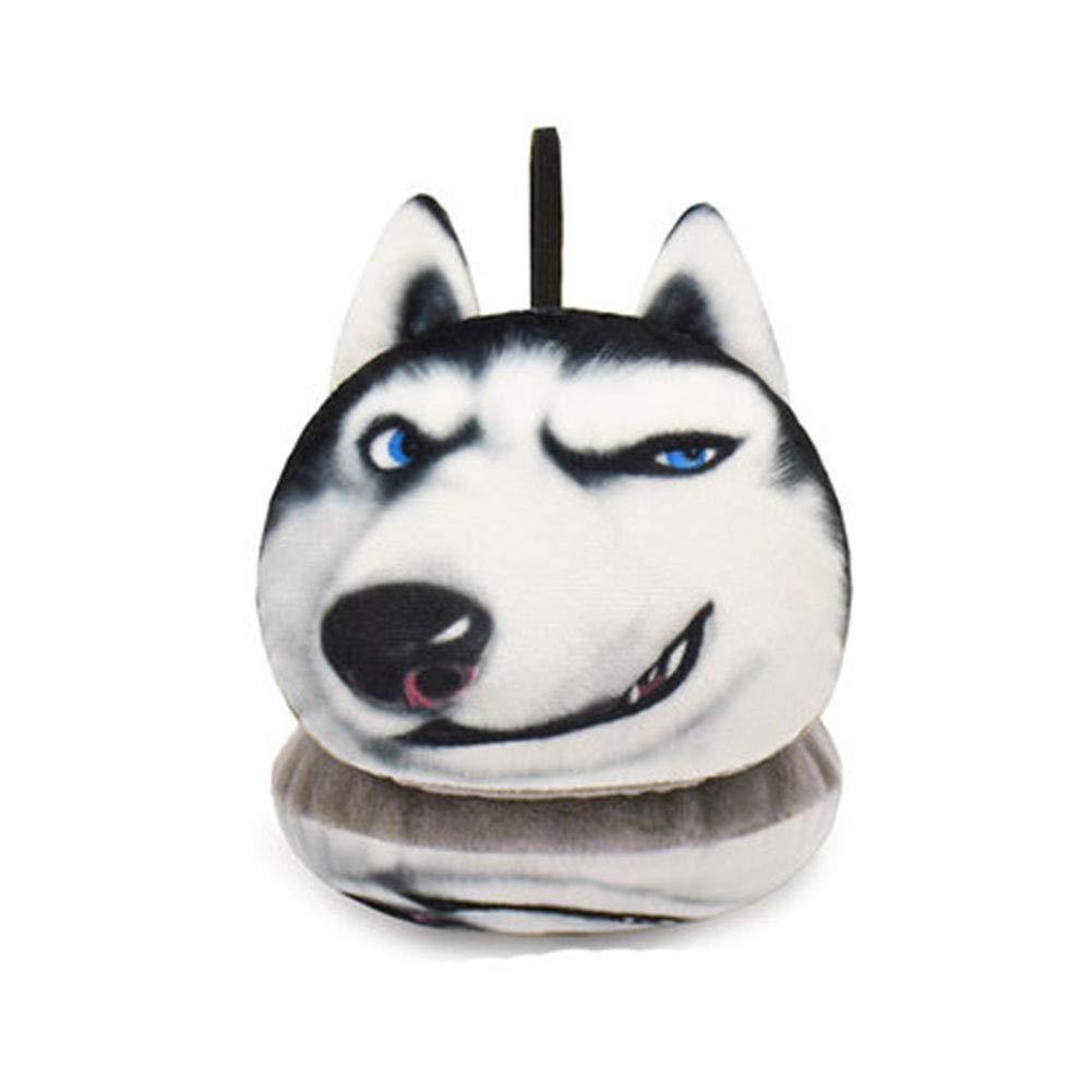 Unisex Winter Fleece Ear Muffs 3D Cute Dog & Cat Outdoor Ear Warmers for Girls (Dog-03)