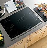 GE Profile CleanDesign : PP945SMSS 30 Smoothtop Electric Cooktop – Black Surface, Stainless Steel thumbnail