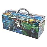 Sainty Art Works 24-039 Feeding Frenzy Art Deco Tool Box by Sainty Art Works