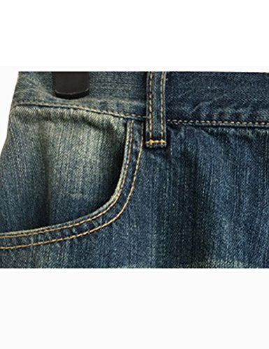 Pantaloni Donna Vita Leg Foro Stile Harem Youlee Jeans Elastico 8 Ampia awqcAYB