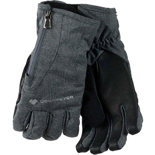 Obermeyer Womens Alpine Glove (Light Heather Grey / X-Large)