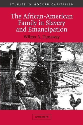 Download The African-American Family in Slavery and Emancipation (Studies in Modern Capitalism) ( Paperback ) by Dunaway, Wilma A. published by Cambridge University Press pdf epub