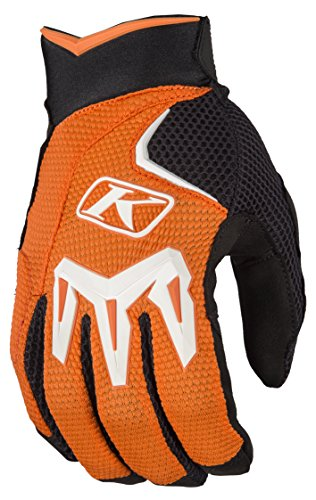 Klim Mojave Men's Off-Road Motorcycle Gloves - Orange/Large