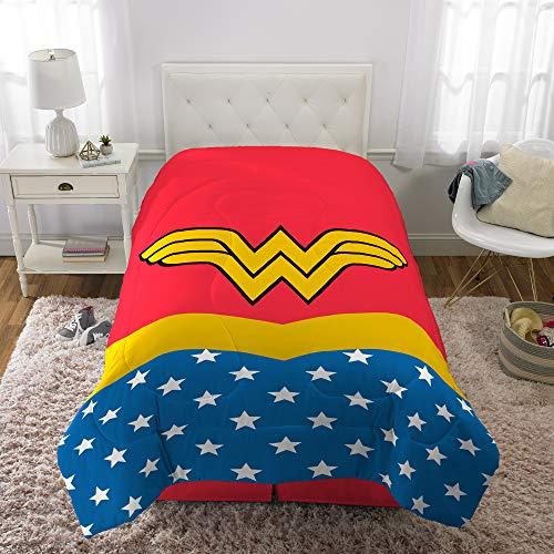 Warner Bros. I Am I Am Wonder Woman Comforter, Twin/Full (Wonder Woman Bedding Full)