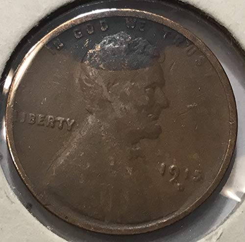 1915 D Lincoln Wheat Cent Penny Very Good