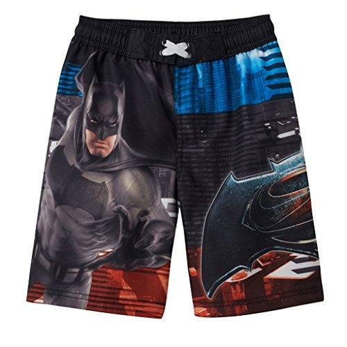 Batman VS Superman Boys Swim Trunks (Size 4) -