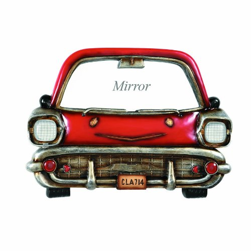- RAM Gameroom Products Pub Sign, Red Car with Mirror