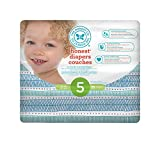 The Honest Company Diapers, Boys and Girls, Size 5, Teal Tribal