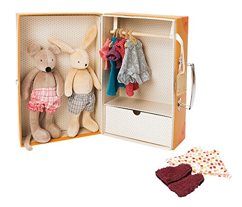 Grande Armoire - Moulin Roty La Grande Famille The Little Wardrobe Suitcase