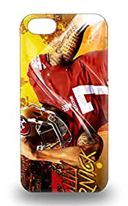 New Arrival Case Specially Design For Iphone 5/5s NFL San Francisco 49ers Colin Kaepernick #7 ( Custom Picture iPhone 6, iPhone 6 PLUS, iPhone 5, iPhone 5S, iPhone 5C, iPhone 4, iPhone 4S,Galaxy S6,Galaxy S5,Galaxy S4,Galaxy S3,Note 3,iPad Mini-Mini 2,iPad Air ) 3D PC Soft Case