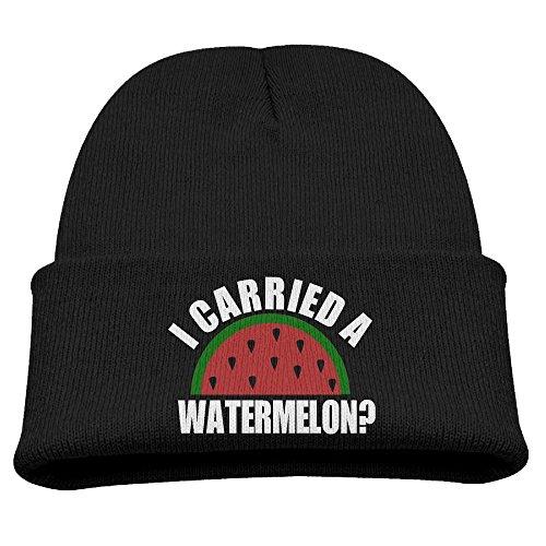 Obachi Carried A Watermelon Unisex Beanie Cap Black -