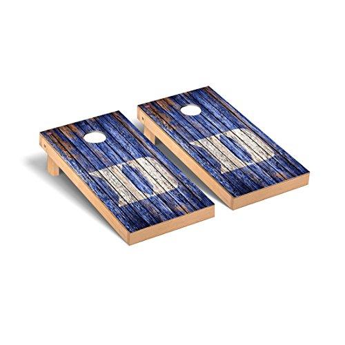 - Duke Blue Devils Regulation Cornhole Game Set Weathered Version