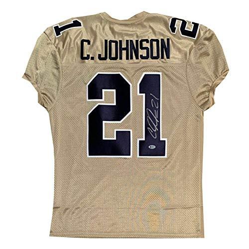 Calvin Johnson Autographed Jersey - Georgia Football Beckett BAS COA - Beckett Authentication - Autographed College Jerseys ()