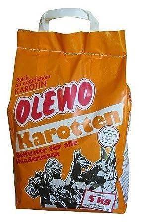Olewo 5kgs | Zanahoria deshidratada para Perros o Gatos Olewo Karotten: Amazon.es: Productos para mascotas