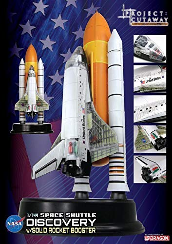 Boosters Shuttle Space (Dragon Models Space Shuttle