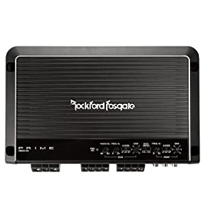 New Rockford Fosgate Prime 600 Watt Class D 4 channel Amplifier