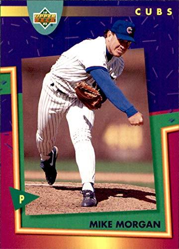 (1993 Fun Pack Upper Deck #82 Mike Morgan CHICAGO CUBS )