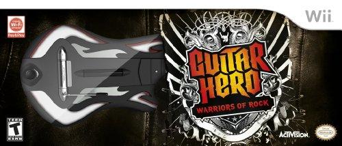 Guitar Hero: Warriors of Rock Guitar Bundle (Wii) (Guitar Hero 3 Bundle Wii)